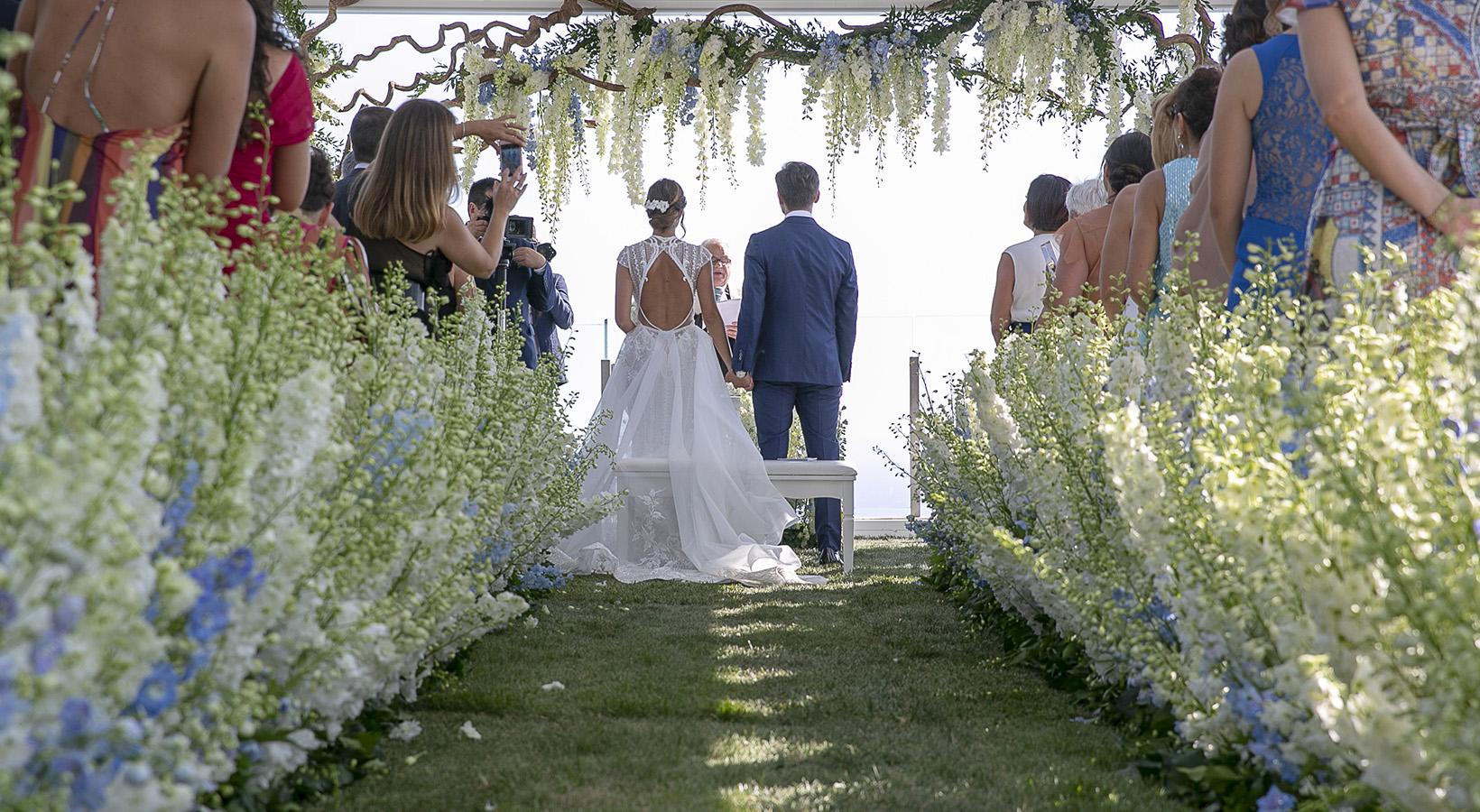 Giardino incantato - allestimento matrimonio
