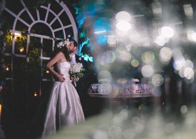 Un matrimonio floreale boho chic