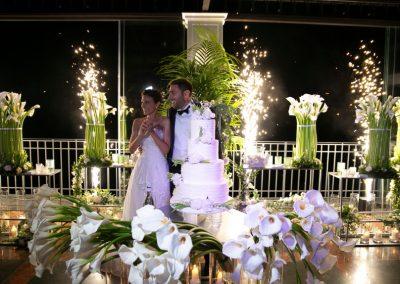 Un matrimonio minimal ed elegante