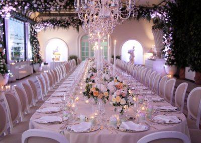 Un Matrimonio Rose e Cristalli