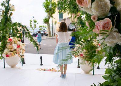 La rosa protagonista di un matrimonio a maggio